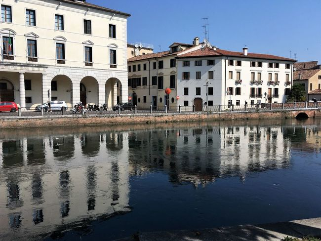 The river (Sile) Old Town Unıversıty Water Reflections Your Ticket To Europe Architecture Built Structure Clear Sky Outdoors Placid  River Waterfront