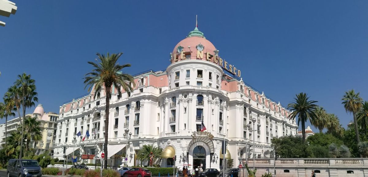 Architecture Nice France Negresco Hotel French Riviera
