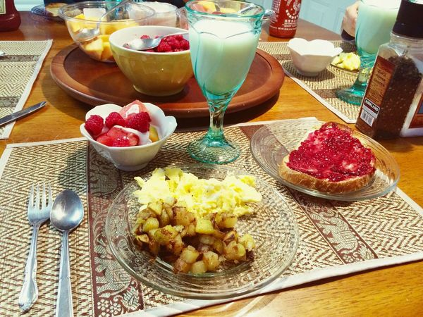 USA American Breakfast Exchange Student AFS Enjoy Life Enjoy Food Goodmorning So Good Alaskan Life Traveling
