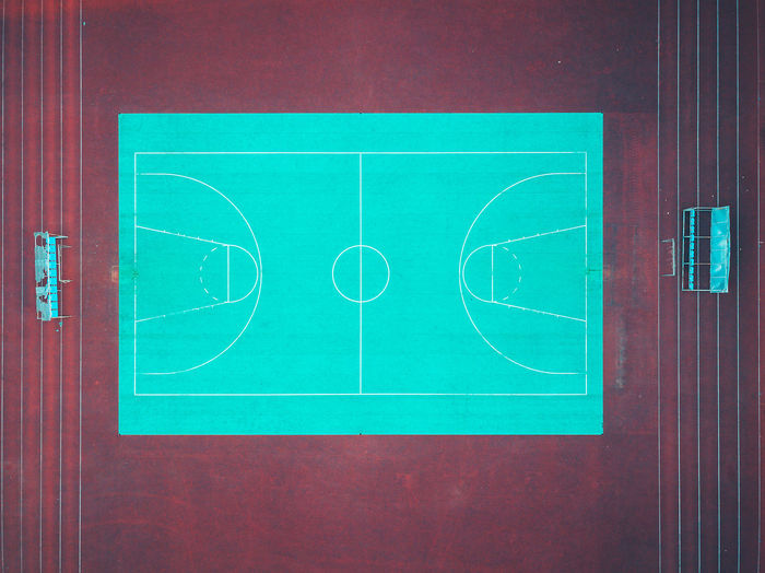 City Court DJI Mavic Pro Drone  Absence Aerial View Ball Basketball - Sport Birds Eye View Blue Circle Close-up Court Directly Above Empty Europe Geometric Shape High Angle View Indoors  Lines And Shapes Mavic Mavic Pro No People Red Sport Sports Equipment Still Life Table Team Sport Turquoise Colored Wall - Building Feature The Architect - 2018 EyeEm Awards