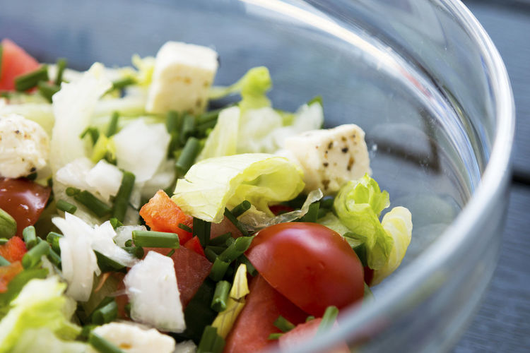 Close-Up Of Salad In Bowl