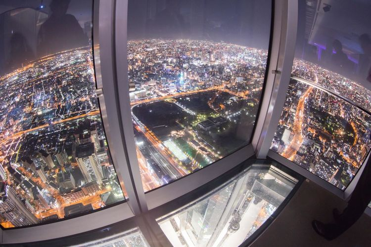 大阪夜景 Osaka nightview Nightphotography OSAKA Japan Street Night Streetphotography City Cityscape Illuminated Window Architecture Close-up Sky Street Light