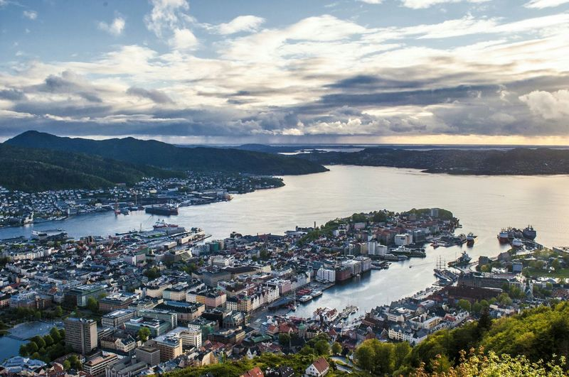 Bergen Birdview Travel Photography Landscape_photography Nikon Nikon D90 Nikonphotography Norway 2015  The Great Outdoors With Adobe Flying High