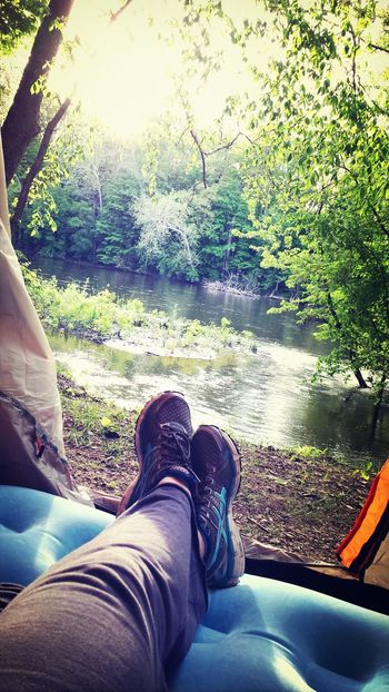 waking up to this view...best Memorial Day weekend camping trip Into The Wild Camping KiMartinez Photography Relaxing