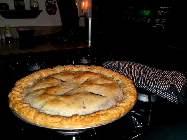 Homemade Cherry Pie Homemade Apple Pie Sweet Pie Savory Pie Tart - Dessert Preparing Food French Food Table Close-up Food And Drink Pastry Dessert Baked Pastry Item Pie