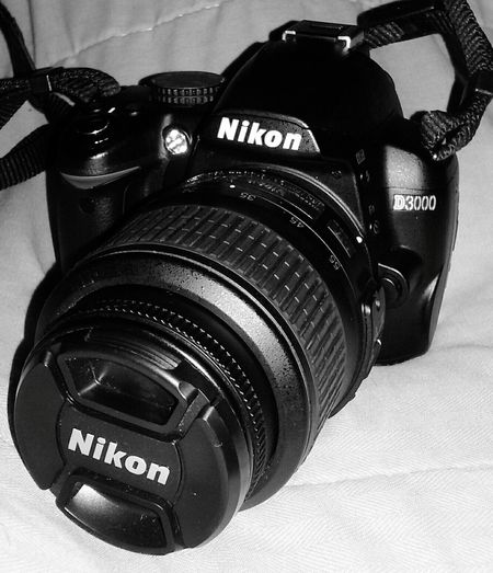 My First Nikon Camera. Excited Exciting Day!!! Exciting Times Awaiting😘 New Adventures New Used Camera Cant Wait Anticipation Wonder Front View Ready To My First Picture! Android Photography