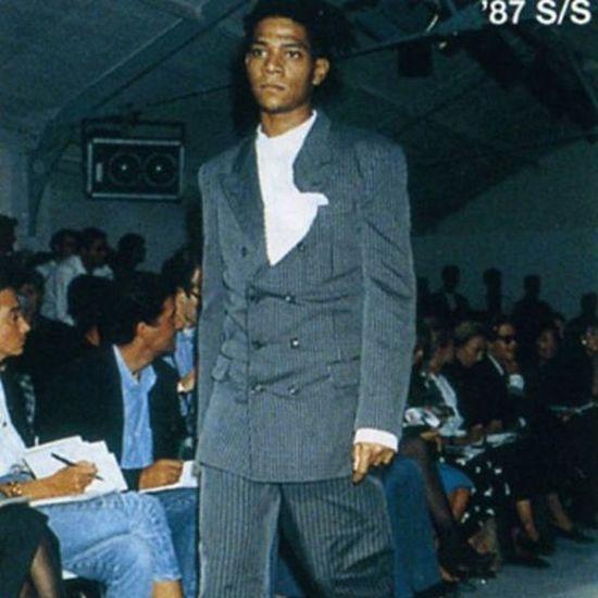 """Fly basquiat part 2"" JeanMichelBasquiat Commedesgarcons Fashion"