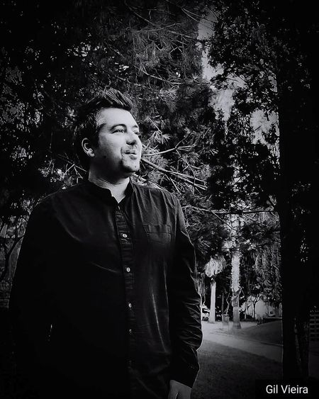 walk on the woods... Black Background Portrait Retro Styled Film Noir Style Smoking - Activity Thoughtful Bad Habit Cigar Pensive