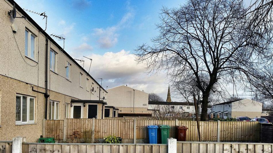 Gorton Manchester Housing Backyard