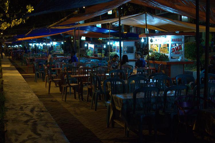Traditional Food court in Makassar, Indonesia... We call it Pisang Epe' Cities At Night Makassar In Indonesia Makassarcity Losari Beach Makassarjajananpasar Foodcourt City At Night Citytrip City Lights At Night EyeEmNewHere