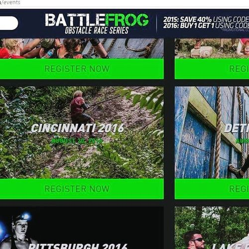 For being an amateur OCR racer I sure make my fair share of promotional material. Videos, flyers, websites, advertisements. Here's the latest on battle frogs website. Ocr Ocrunited Hyletecompeteteam Eatnuttzo Teamcorepower Buffalo Buffalony Buffalonewyork Icebug Skins Cepcompression Battlefrogxtreme Battlefrog