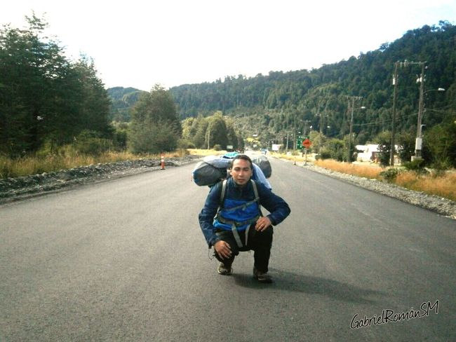 Mochileando Mochilero Carretera Austral Enjoying Life Relaxing Moments Autostop Sur De Chile