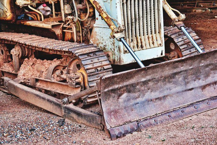 Machine Construction Ground Grader
