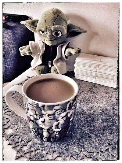 Sunday Morning Coffee Cup Coffee - Drink Yoda Star Wars