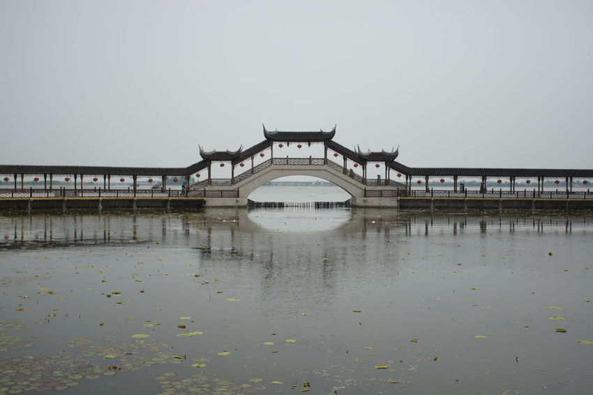 China Architecture Water And Bridge Sky And Water Tradition Heritage