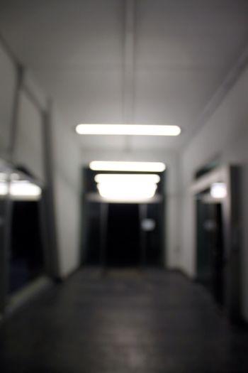 Science Fiction Lecorbusier Architecture Blurry Soft Focus Focus Outoffocus Corridor Light Shadow
