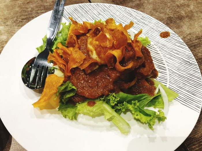 GADOGADO GadoGado Ready-to-eat Plate Food Freshness Food And Drink Serving Size Indoors
