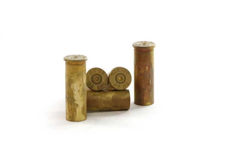 Bearings Gun Shelling Gun Bearings Close-up No People Old Studio Shot White Background