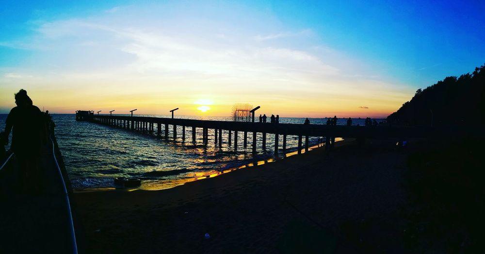 Sea Sea Sky Sun