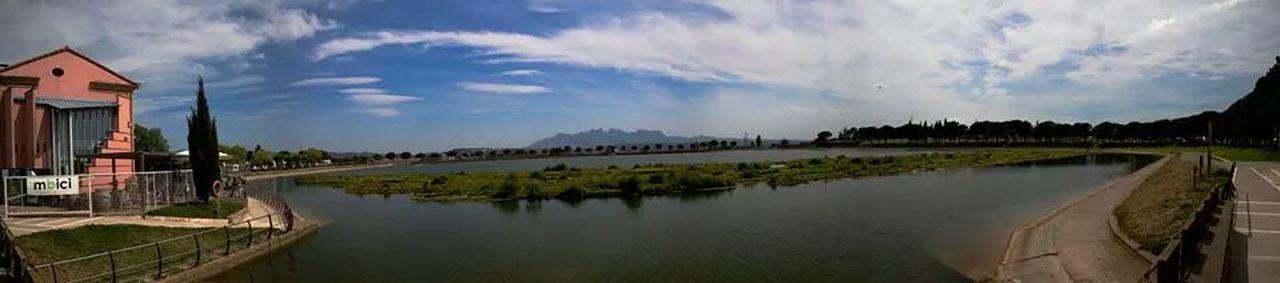 Manresa Parc De L'Agulla  Landscape Panoramic
