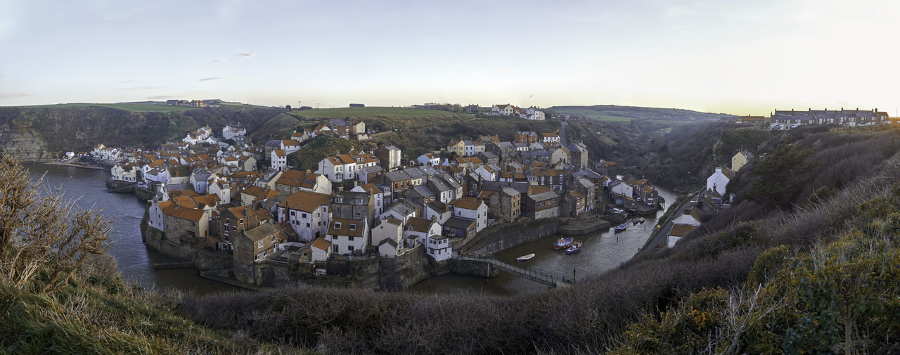 Staithes panorama ii