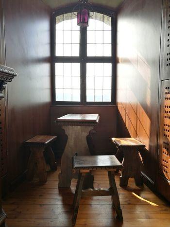 Indoors  Window Chair Hardwood Floor Home Interior No People Shadow Day Living Room Gorizia Assenza Light Silence Table Wood - Material