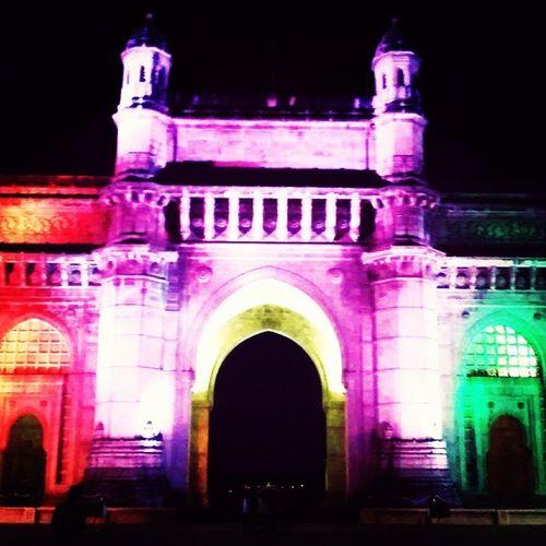 Gatewayfindia Colorfest Mumbai Nightstroll random justcam naturalkaliedoscope nofilters paintpic urbannomad vagabond