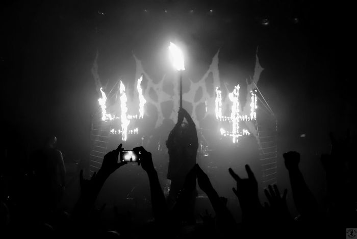 .::Watain::. Awesome Performance MADE IN SWEDEN Black And White Excellence DCLXVI Music Concert Live Music Hail Satan Black And White Blackandwhite
