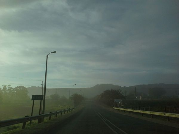 Klawer Tourism No Filter, No Edit, Just Photography N7 Namaqualand West Coast South Africa Wispy Clouds Morning Sun Small Town