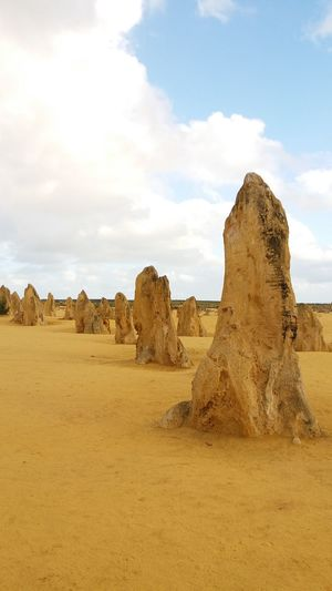 EyeEm Selects Pinnacles Built Structure Old Ruin Rock - Object History Travel Destinations No People Outdoors Nature Desert Sky Australia Yanchep National Park Rock Formation