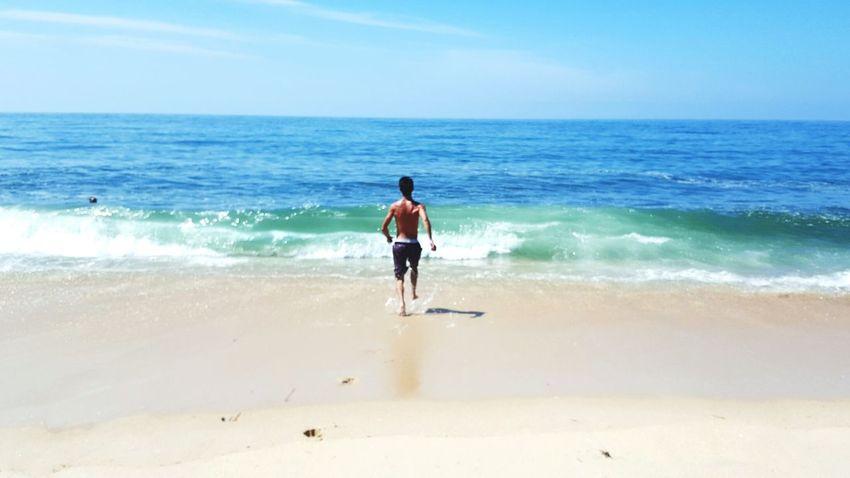 Sea Beach Summer Sand Vacations Portugal EyeEm Blue Wave BG Moove  Enjoy The New Normal Eyem Best Shots Miles Away