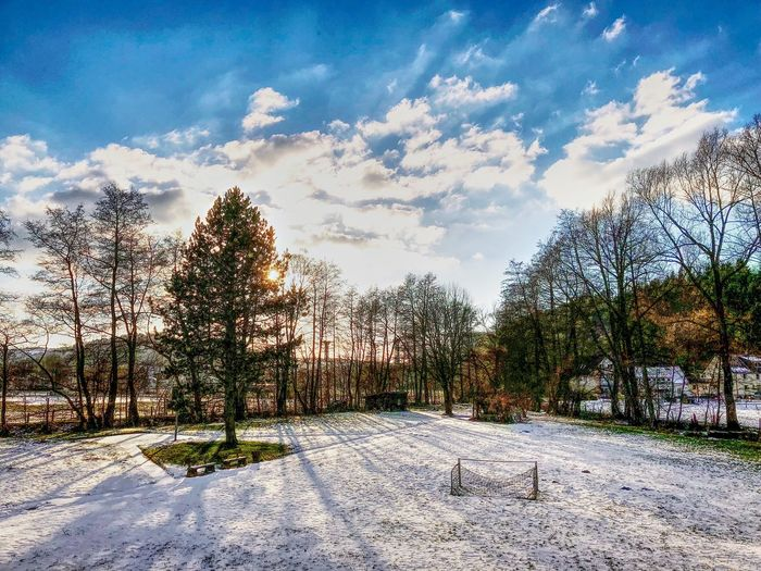 Winter in NRW NRW Nordrein-Westphalen Deutschland Germany Tree Cloud - Sky Sky Snow Winter Nature Scenics Beauty In Nature Cold Temperature Outdoors Landscape Day