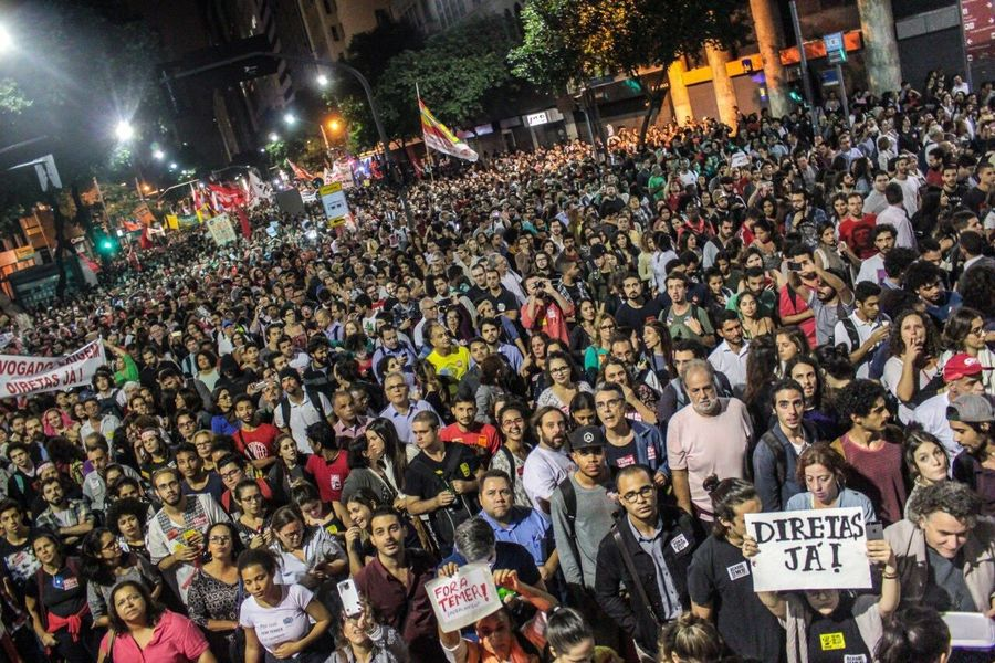 Ato pelas eleições Diretas Já no Rio de Janeiro- 18/05/17 Foratemer DiretasJá First Eyeem Photo