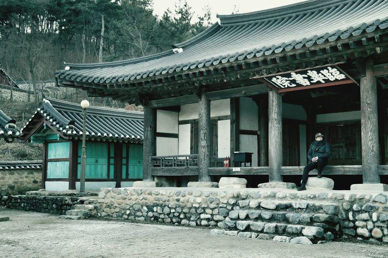 Korea Trip Photo Traditional Old House Korean Style House I Love Korea  Friend ✌