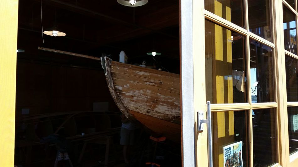 New life for an old sailor Wood - Material Sailboat Restoration Project Boatshop