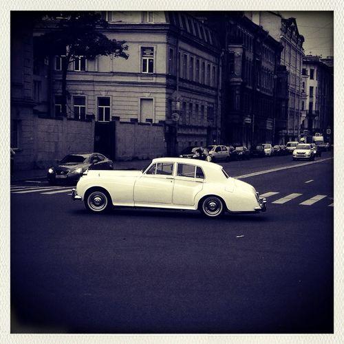 Retro Car Rolsroyce Saint Petersburg