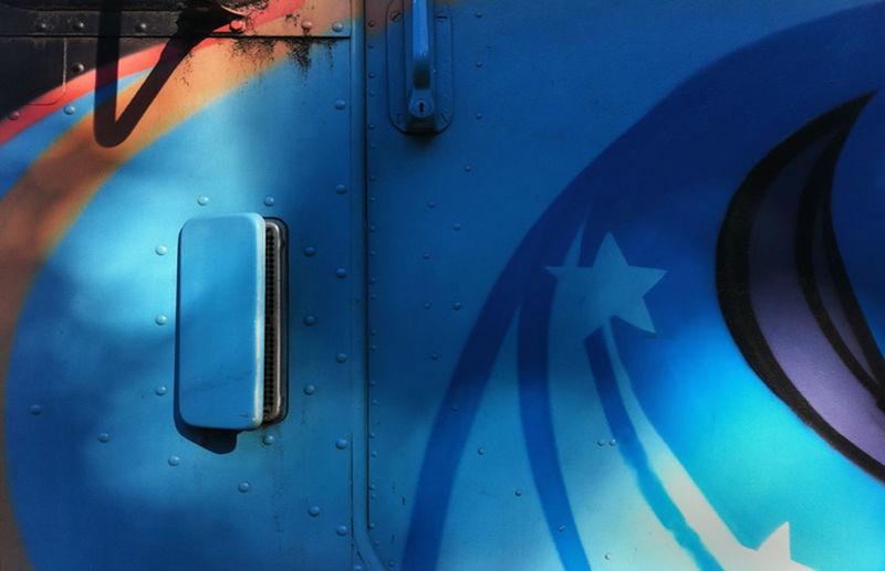 Blue truck-stars