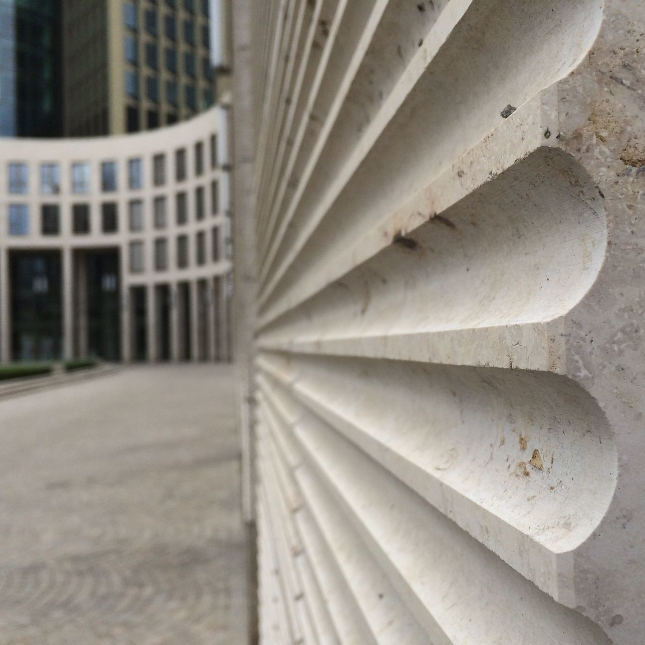 built structure, architecture, no people, building exterior, building, close-up, pattern, white color, focus on foreground, city, steps and staircases, staircase, day, outdoors, empty, railing, design, repetition, concrete