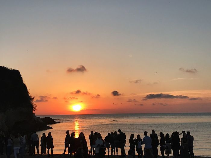 """""""People and the sunset"""" Amazing Naples Sunsetaddicted Nofilterneeded Summer Views Sunsetlover First Eyeem Photo"""