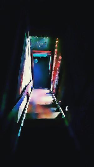 Door Stairs Light And Shadow Abstract NEM Abstracts Obsessive Edits NEM Painterly NEM Derelict