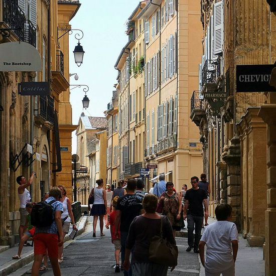 Aix En Provence France Cityscape Traveling