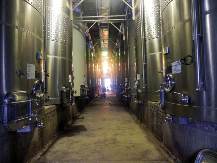 Bodega Brewery Cellar Distillation Distillery Food And Drink Industry Illuminated Indoors  Industry No People Storage Tank Tone Viños Wine Wine Cask Wine Cellar Winemaking Winery