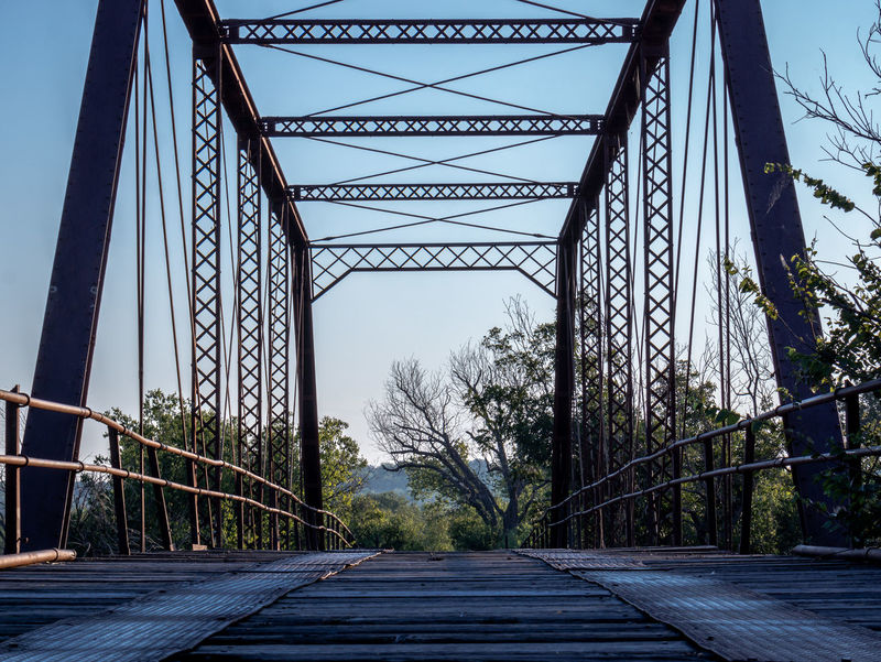 Bridge with a View_8249 Architecture Bridge Bridge - Man Made Structure Bridge View Built Structure Day Diminishing Perspective Engineering Eye4photography  Low Angle View No People Non-urban Scene Not In Use Anymore Not Used Anymore Outdoors Trestle Trestle Bridge Yesteryear