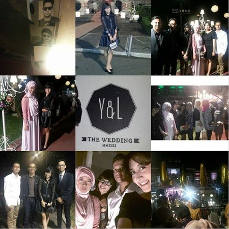 Yesy & Lendy's Wedding Day Yl Wedding Party November2k13 ♥