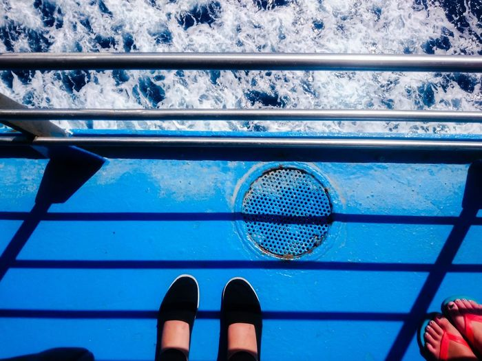 Blue Showcase July Enjoying Life Traveling Mediterranean  Mediterranean Sea Ocean Ocean View Travel Destinations Hidden Gems  Sicily Outdoors Pivotal IdeasTranquility EyeemphotoPeople Together Ferry Boat Ferry Blue Hour Feet Feets Water Sea Ship Colour Of Life Let's Go. Together. Sommergefühle Summer Exploratorium