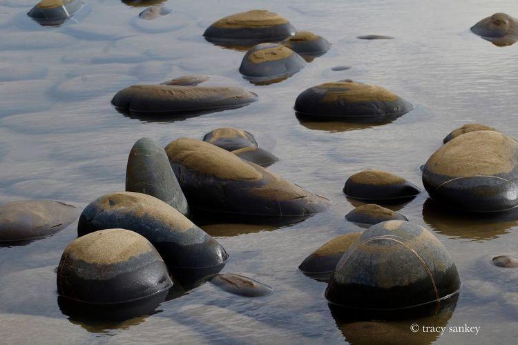 #pebbles #beach #colours #water