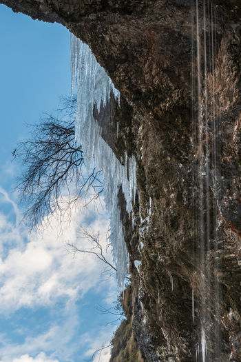 Winter. Ice