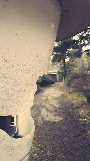 Broken Lantern Lost Place