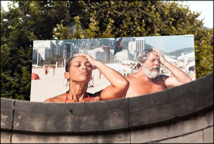 Paris Enjoying Life On A Holiday Enjoying The Sun Advertising Space billboard Street Photography