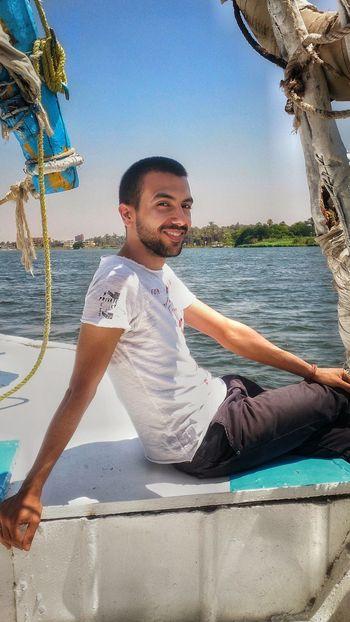 Nature Nile River Egypt Maadi مركب شراعي